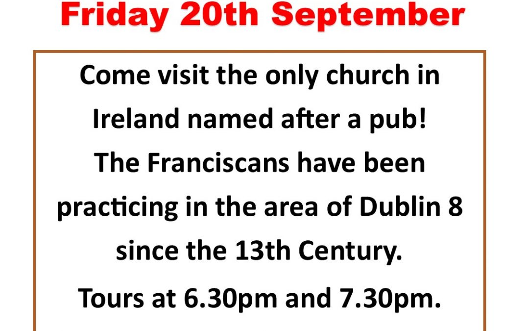 Culture night Friday 20th September 2019