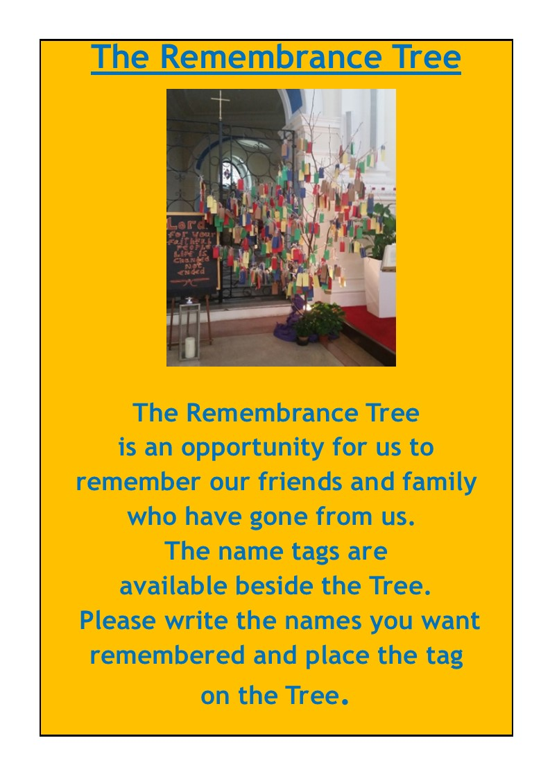 Remembrance Tree Notice 2019