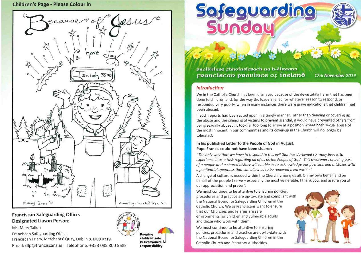 Safeguarding neswletter (f)17.11.19