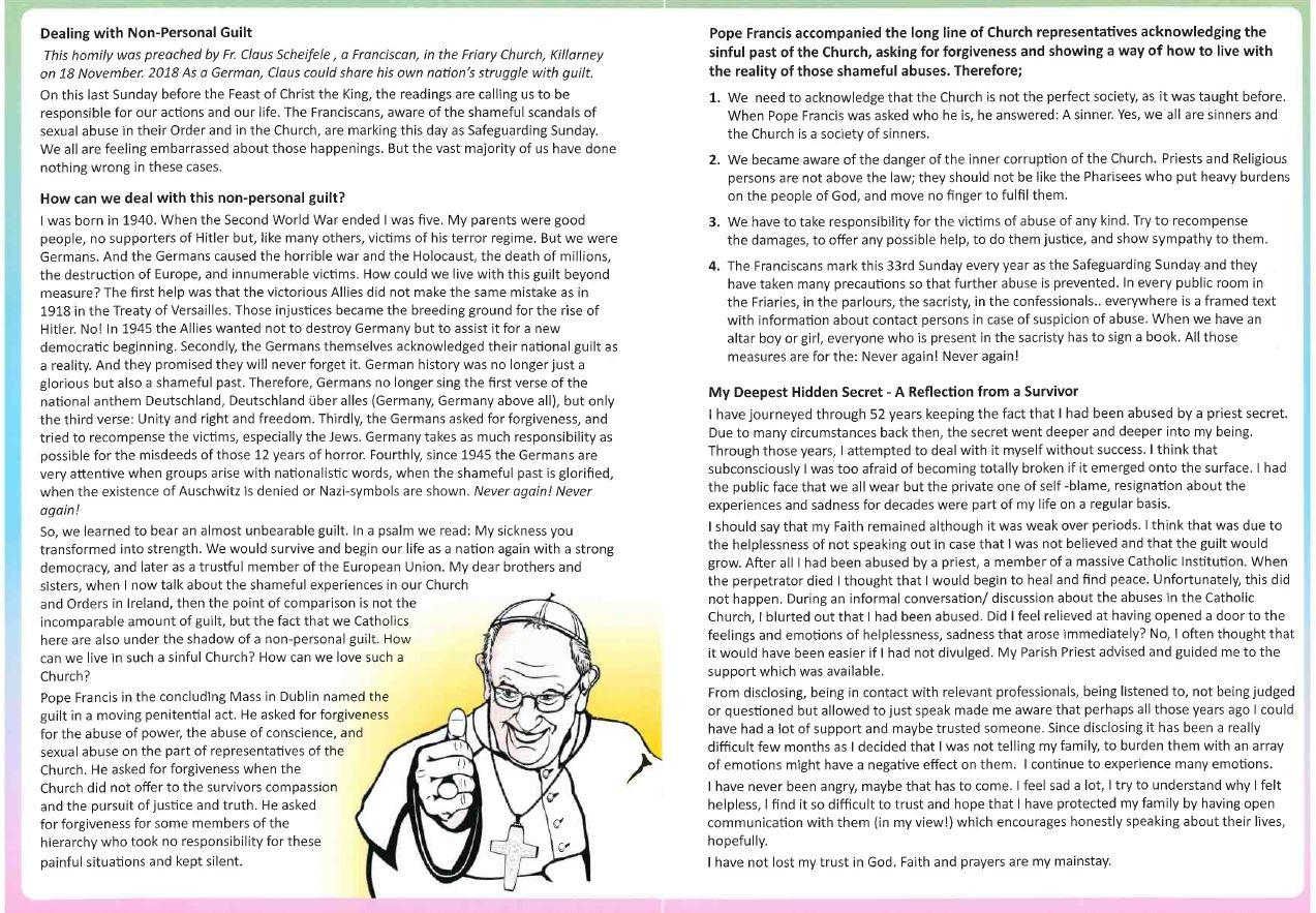 Safeguarding newsletter 17.11.19