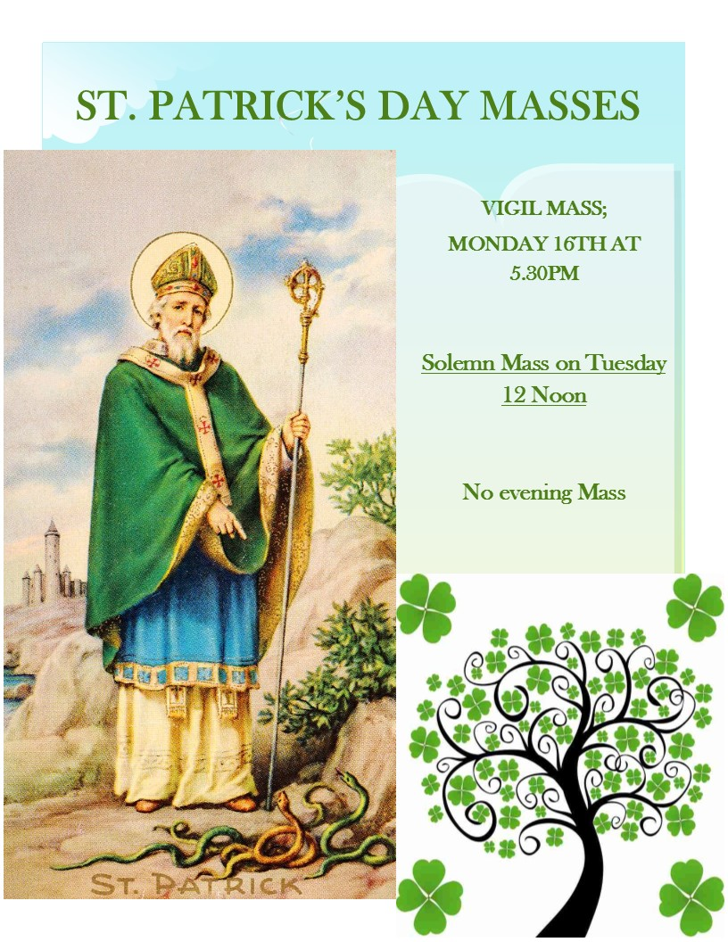St Pat day poster 2020