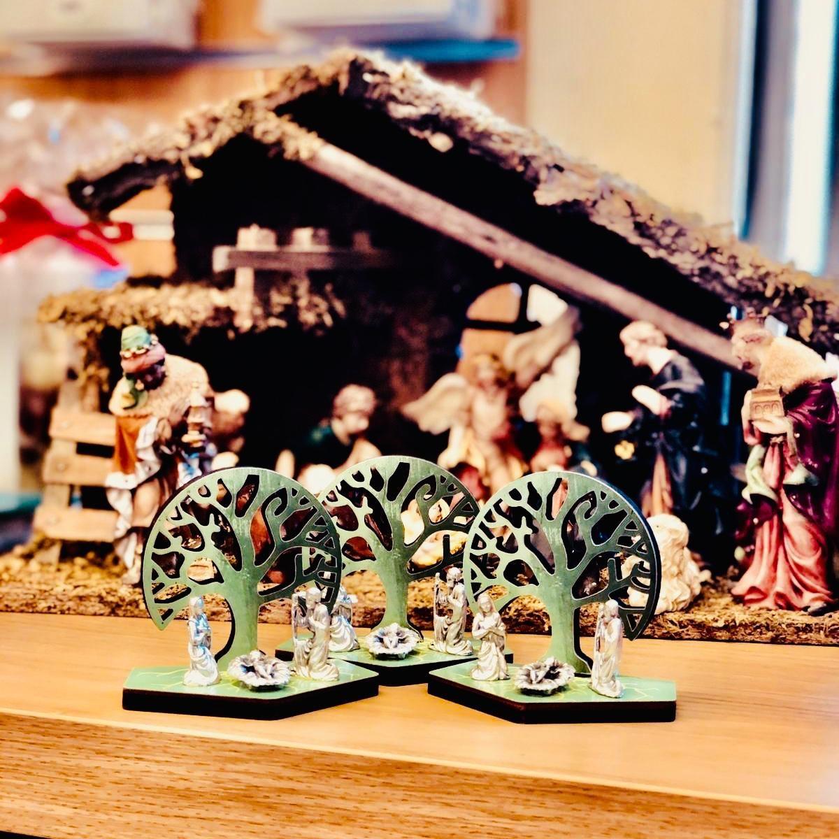 Christmas small cribs